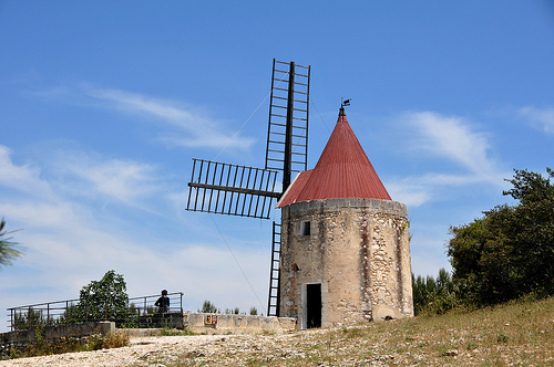 Moulin de Daudet by Giora