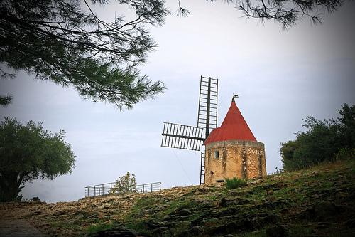 Moulin de Daudet à Fontvieille by Boccalupo