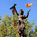 Statue - La Marianne de Fontvieille par Vaxjo - Fontvieille 13990 Bouches-du-Rhône Provence France
