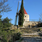 Moulin de Daudet (13) Fontvieille by cigale4 - Fontvieille 13990 Bouches-du-Rhône Provence France
