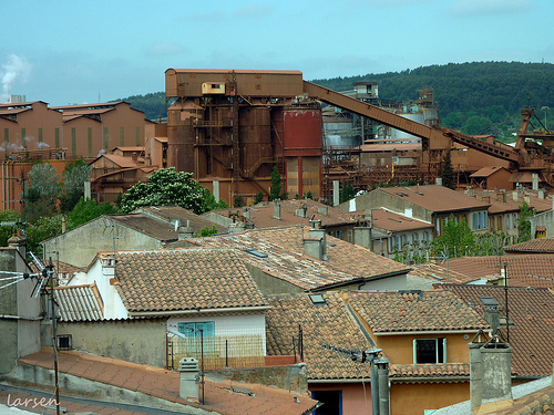 Gardanne - Usine Rio Tinto Alcan by larsen & co