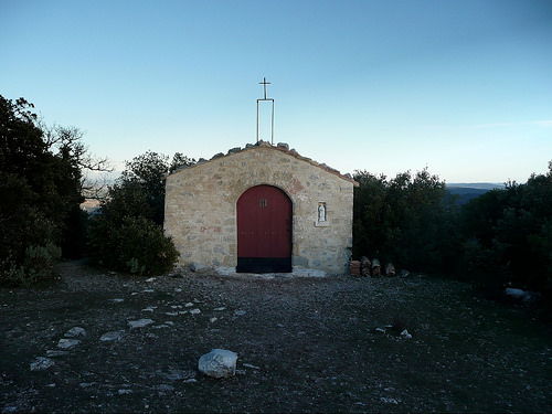 Chapelle Sainte-Consorce - 740 m d'altitude par bruno Carrias