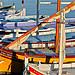 Bateaux de pêche, vive la couleur par Alpha Lima X-ray - La Ciotat 13600 Bouches-du-Rhône Provence France