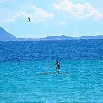 Bonheur en bleu... Paddleboard par FranceParis92 - La Ciotat 13600 Bouches-du-Rhône Provence France