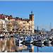 Lumière du Sud - Reflets sur le port de La Ciotat par Charlottess - La Ciotat 13600 Bouches-du-Rhône Provence France