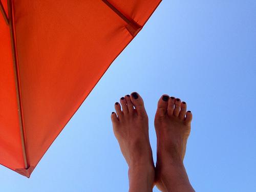Les vacances c'est... le pied ! par FranceParis92