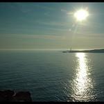 Côte d'azur : Le soleil descend sur Sainte-Croix par Patchok34 - La Couronne 13500 Bouches-du-Rhône Provence France