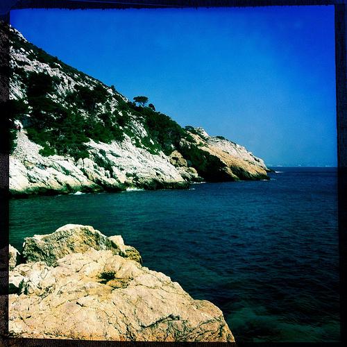 La montagne se baigne - La Côte Bleue par maybeairline