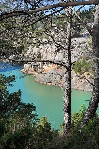 Lac Zola - Sainte-Victoire par Charlottess