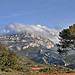 La montagne Sainte-Victoire dans les nuages par Charlottess - Le Tholonet 13100 Bouches-du-Rh&ocirc;ne Provence France