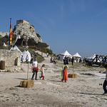 L'Assaut du Château des Baux de Provence par  - Les Baux de Provence 13520 Bouches-du-Rhône Provence France