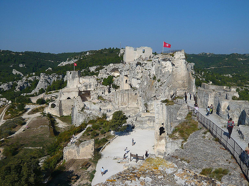 Les Baux de Provence - le château par Vaxjo