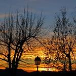 Soir de décembre. by bernard BONIFASSI - Les Baux de Provence 13520 Bouches-du-Rhône Provence France