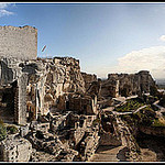 Panoramique sur Les beaux de Provence par Alexandre Santerne - Les Baux de Provence 13520 Bouches-du-Rhône Provence France