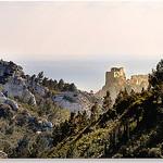 Fin de journée sur les Baux par Charlottess - Les Baux de Provence 13520 Bouches-du-Rhône Provence France