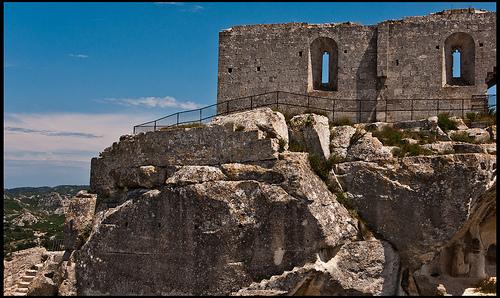 Ruines du Château des Baux-de-Provence by guillenperez