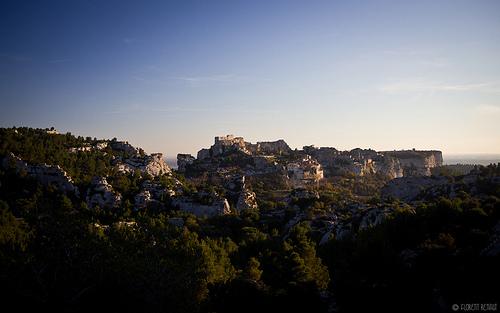 Vu sur les Baux de Provence par NeoNature