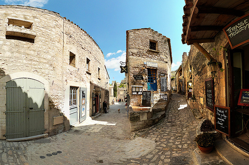 Les Baux de Provence : ballade dans les rues by wessel-dijkstra