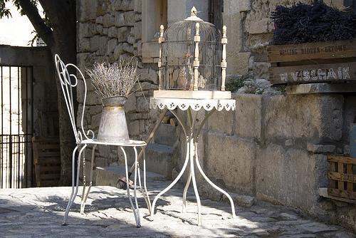 Provence style - Les Baux by Massimo Battesini