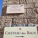 Les Baux - rue du château par  - Les Baux de Provence 13520 Bouches-du-Rhône Provence France