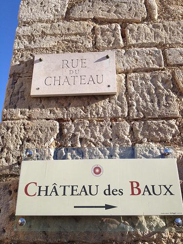 Les Baux - rue du château by gab113