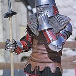 Duel médieval de chevaliers - Les Médiévales des Baux de Provence par  - Les Baux de Provence 13520 Bouches-du-Rhône Provence France