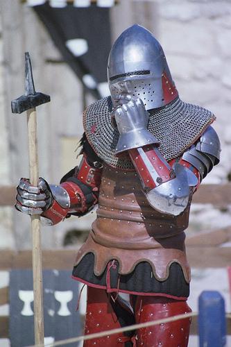 Duel médieval de chevaliers - Les Médiévales des Baux de Provence par Zakolin