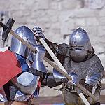 Duel médieval - Médiévales des Baux de Provence par  - Les Baux de Provence 13520 Bouches-du-Rhône Provence France