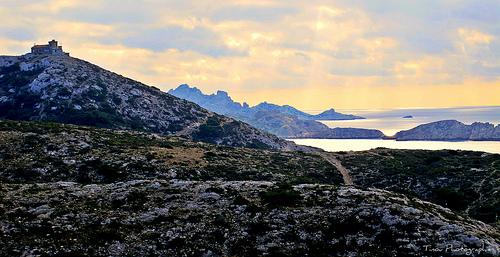 Rando dans le massif de Marseilleveyre par le pas de la demi lune by Tinou61