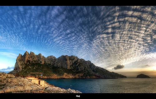 Panorama Ile Maïre, l'île aux singes, Marseille par Cilou101