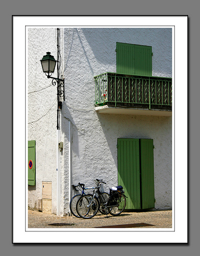Bicycles at Maillane by fiona_60