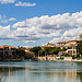 The centre of Pont-Royal par Pasqual Demmenie - Mallemort 13370 Bouches-du-Rhône Provence France