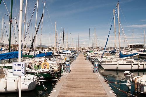 Le vieux Port, Marseille, port de plaisance by Bomboclack