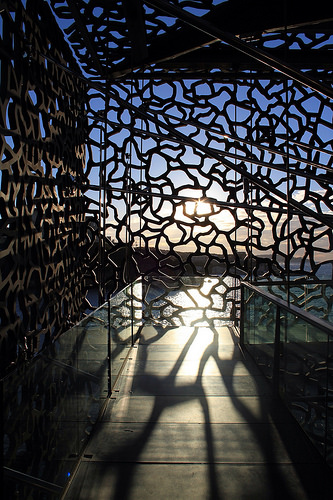 Puzzle de couché de soleil - MuCEM by maybeairline