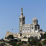 La Bonne Mère qui surplombe Marseille by mary maa - Marseille 13000 Bouches-du-Rhône Provence France