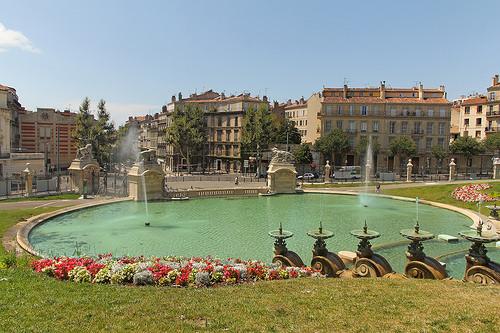 Fontaine du Palais Longchamps par Meteorry
