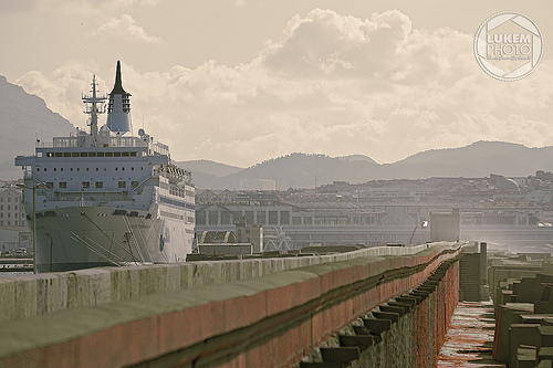Dock de Marseille - ferry by lukem-photo