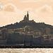 Notre Dame de la Garde à Marseille by lukem-photo - Marseille 13000 Bouches-du-Rhône Provence France
