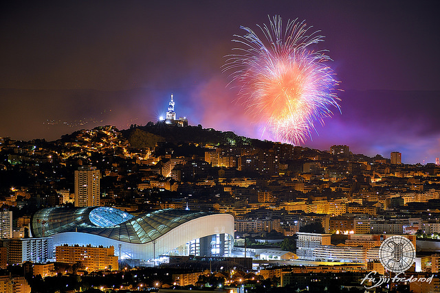 14 juillet 2015 - Marseille - Stade Vélodrome (Bouches-du-Rhône - Marseille) par Fujjii Fredorod