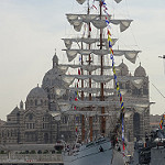 Le voilier Cuauhtémoc dans le port de Marseille par Hélène_D - Marseille 13000 Bouches-du-Rhône Provence France