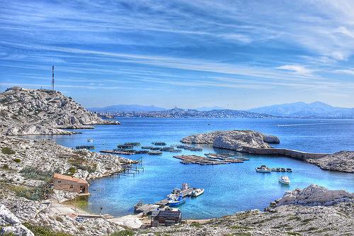 Les îles du Frioul - Marseille, si près by Charlottess
