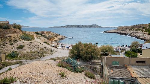 Plage de la Calanque de Marseilleveyre by ma_thi_eu