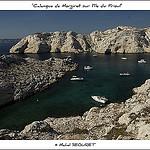 Calanque de Morgiret sur l'Ile du Frioul par michel.seguret - Marseille 13000 Bouches-du-Rhône Provence France