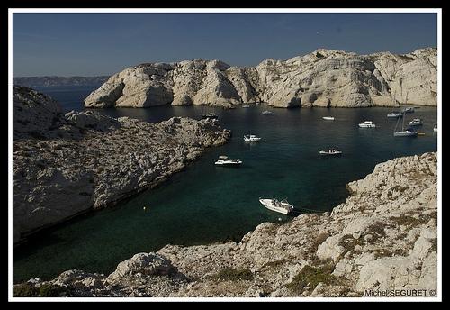 Calanque de Morgiret sur l'Ile du Frioul by michel.seguret