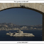 Le Château d'If et Marseille by michel.seguret - Marseille 13000 Bouches-du-Rhône Provence France