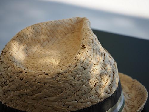 Summer Time - chapeau en paille tressé par NSnooze