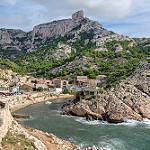 Calanque de Caillelongue par pascal routhier - Marseille 13000 Bouches-du-Rhône Provence France