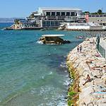 Vue du Centre nautique par  - Marseille 13000 Bouches-du-Rhône Provence France