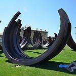 Parc du Pharo - Oeuvre de Bernar VENET by RarOiseau - Marseille 13000 Bouches-du-Rhône Provence France