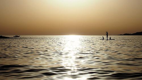 Paddle sur la méditerranée - The Robinsons par VinZo0